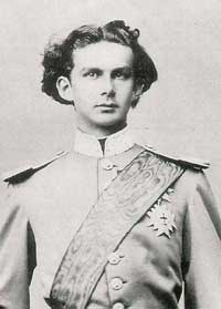 Crown Prince Ludwig II is named King of Bavaria in 1864 at 18years old (c)Bayerische Schlösserverwaltung