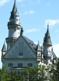 The Castle with his marvelous turrets